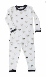 Noomie - 2 Piece Pajamas Black Bulldog 12-18