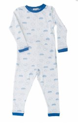 Noomie - 2 Piece Pajamas Cloud Blue 5T