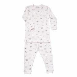 Noomie - 2 Piece Pijamas Pink Eyes 12-18