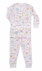 Noomie - 2 Piece Pajamas Lollipops 12-18