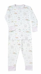 Noomie - 2 Piece Pijamas Rainbows 12-18