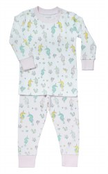 Noomie - 2 Piece Pajamas Sea Horse 5T