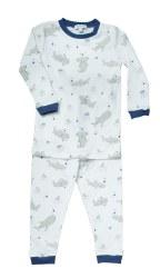 Noomie - 2 Piece Pajamas Sharks 12-18