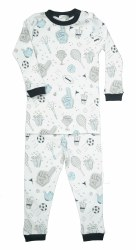Noomie - 2 Piece Pajamas Sports 12-18