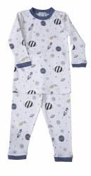 Noomie - 2 Piece Pajamas Blue Universe 12-18