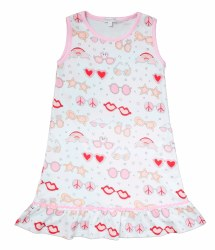 Noomie - Sleeveless Dress - Mermaids 2T