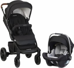 Nuna - Tavo Stroller and Pipa Lite Car Seat Travel System - Caviar