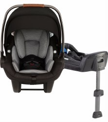 Nuna - Pipa Infant Lite Car Seat - Caviar