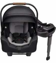 Nuna - Pipa Rx Infant Car Seat + Relx Base -  Caviar
