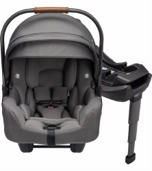 Nuna - Pipa Rx Infant Car Seat + Relx Base -  Granite