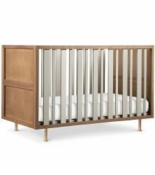 Nursery Works - Novella Crib - Stained Ash/Ivory