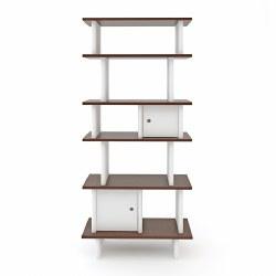 Oeuf - Mini Library Walnut Vrtcl