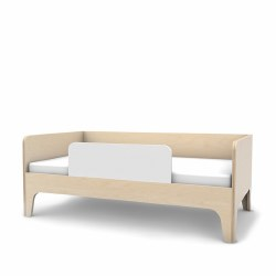 Oeuf - Perch Toddler Bed - White/Birch
