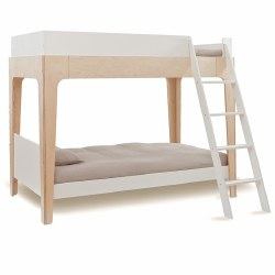 Oeuf - Perch BunkBed White/Birch