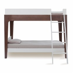 Oeuf - Perch BunkBed White/Walnut