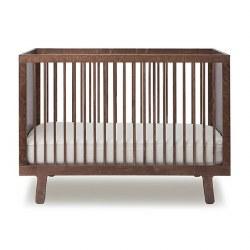 Oeuf - Sparrow Crib Walnut