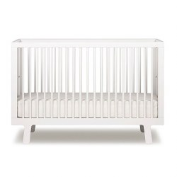 Oeuf - Sparrow Crib White