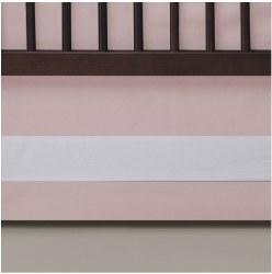 Oilo - Crib Skirt - Blush