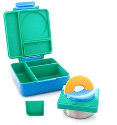 OmieLife - OmieBox Insulated Hot & Cold Bento Box - Meadow