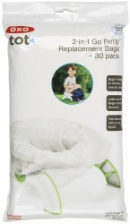 OXO -  2-in-1GoPottyRefill Bag 30