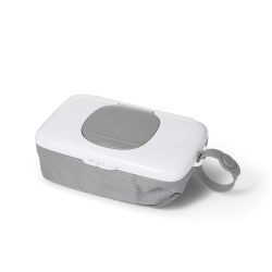 OXO - On The Go Wipes Dispenser with Diaper Pouch - Grey