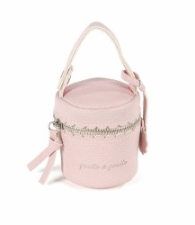 Pasito A Pasito - Pacifier Holder Bag - Biscuit Pink