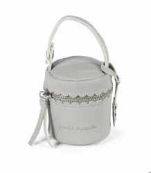 Pasito A Pasito - Pacifier Holder Bag - Biscuit Grey