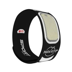 Parakito - Mosquito Repellent Sport Wristband - Black