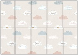 Parklon - Silky Portable Play Mat - Cloud Bebe