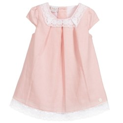 Paz Rodriguez - Woven Dress Acuario - Rose 6M