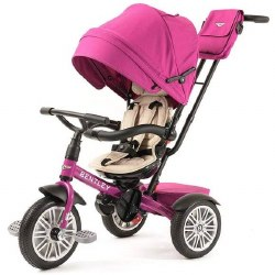 Bentley - Bentley 6-in-1 Stroller/Tricycle -  Fuchsia Pink