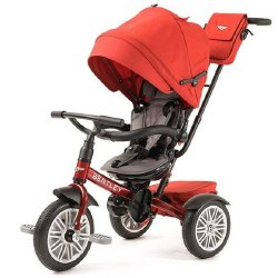 Bentley - Bentley 6-in-1 Stroller/Tricycle -  Dragon Red