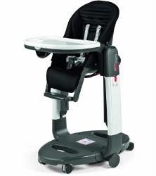 Peg Perego - Tatamia High Chair - Stripes Black