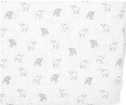 Petit Pehr - Crib Sheet - Little Lamb Grey