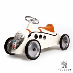 Baghera - Ride-On Car Rider Peugeot Darl'mat Beige