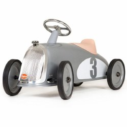 Baghera - Ride-On Car Rider Silver
