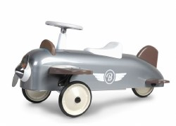 Baghera - Ride-On Speedster Plane Silver