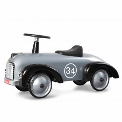 Baghera - Ride-On Car Speedster Silver