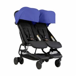 Phil & Teds - Mountain Buggy Nano Double Stroller - Nautical