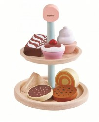 Plan Toys - Bakery Stand Set