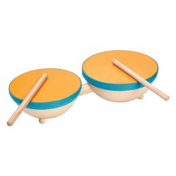 Plan Toys - Double Drum