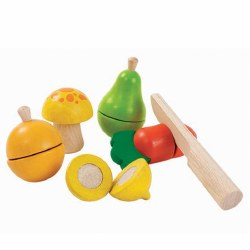 Plan Toys - Fruit & Vegetable Play Set