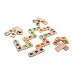 Plan Toys - Fruit & Veggies Dominoes