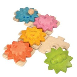 Plan Toys - Gears and Puzzles Standard