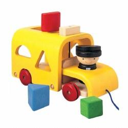 Plan Toys - Sorting Bus