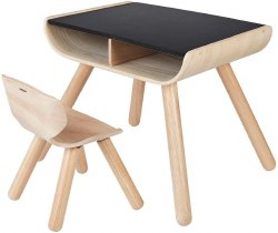 Plan Toys - Table & Chair - Black