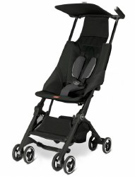 GB Pockit - GB Pockit Compact Stroller - Monument Black