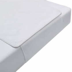 Pima Bedding - Crib Sheet Protector - Khia White