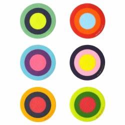Puj - Bath Treads - Multi Color Rings