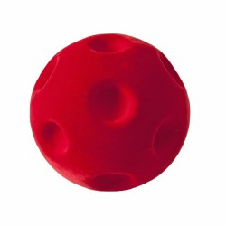 Rubbabu - Bouncy Ball - Crater Red